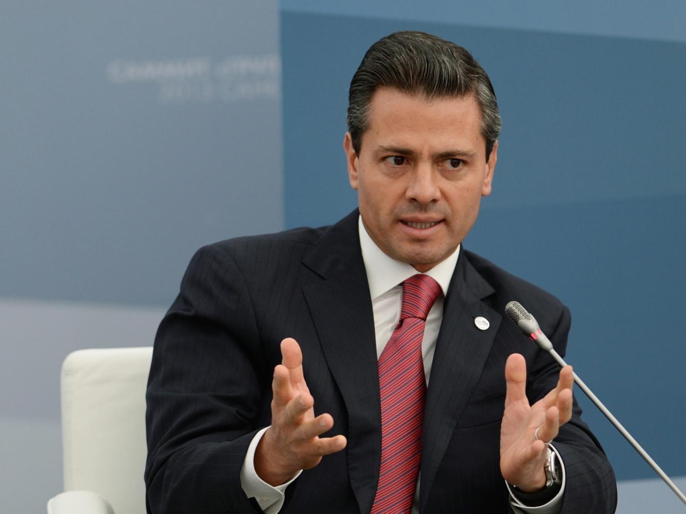 President of Mexico Enrique Pena Nieto