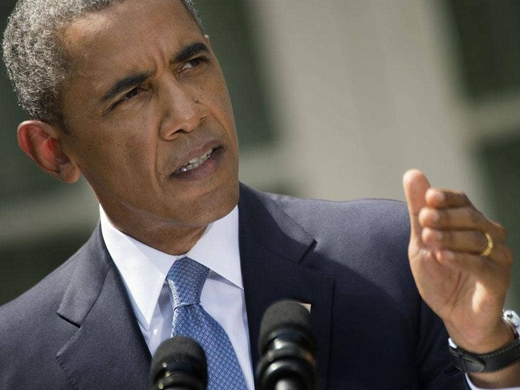 Barack Obama speaks prior to asking Congress to authorize military action