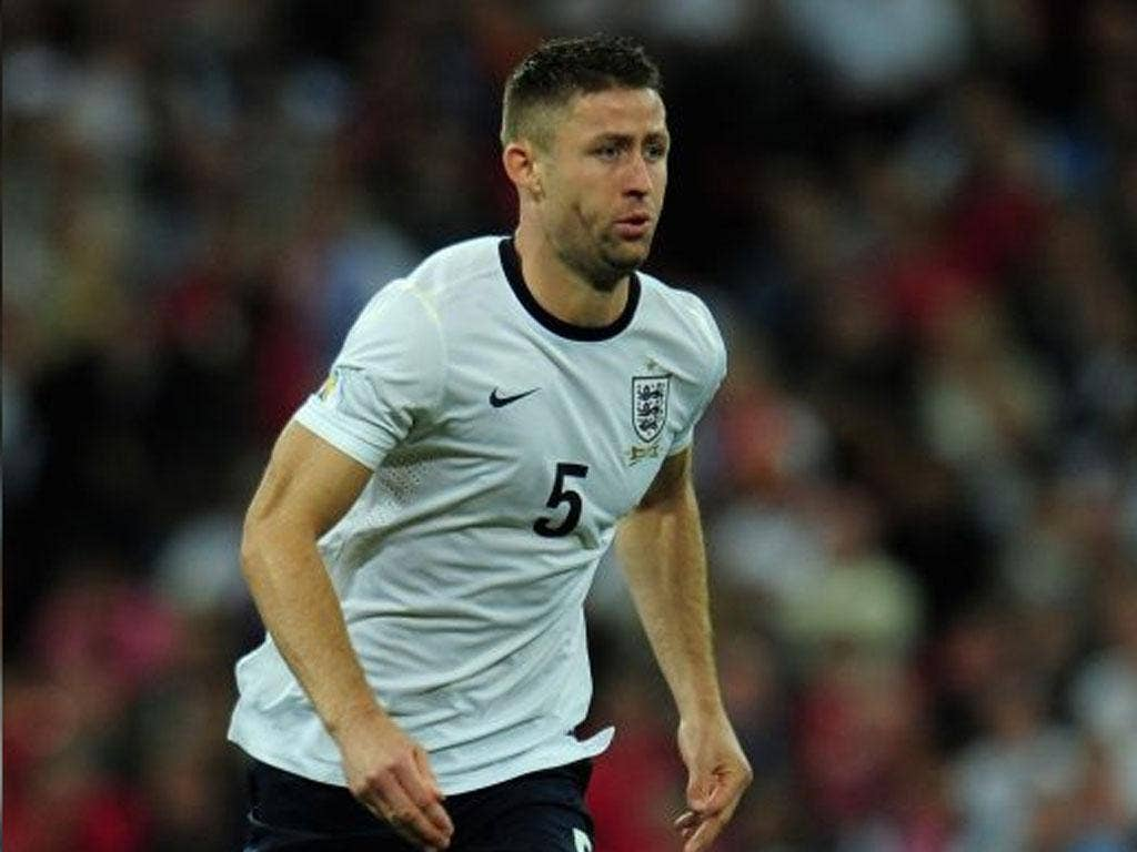 Gary Cahill kept the defence tight with Joe Hart and Phil Jagielka