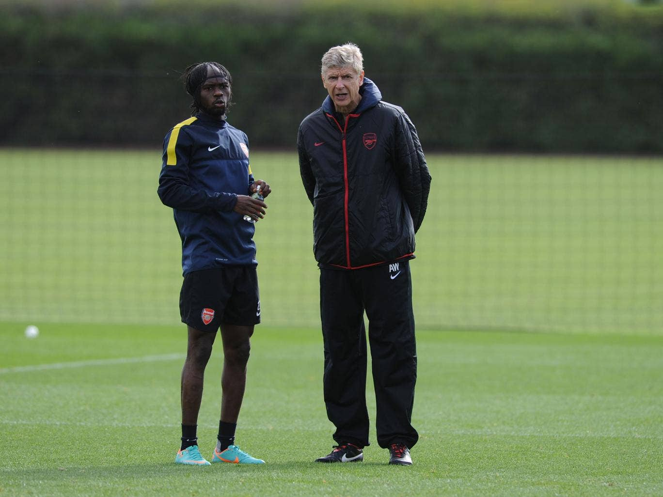 Gervinho has criticised his former manager Arsene Wenger over his lack of playing time at Arsenal