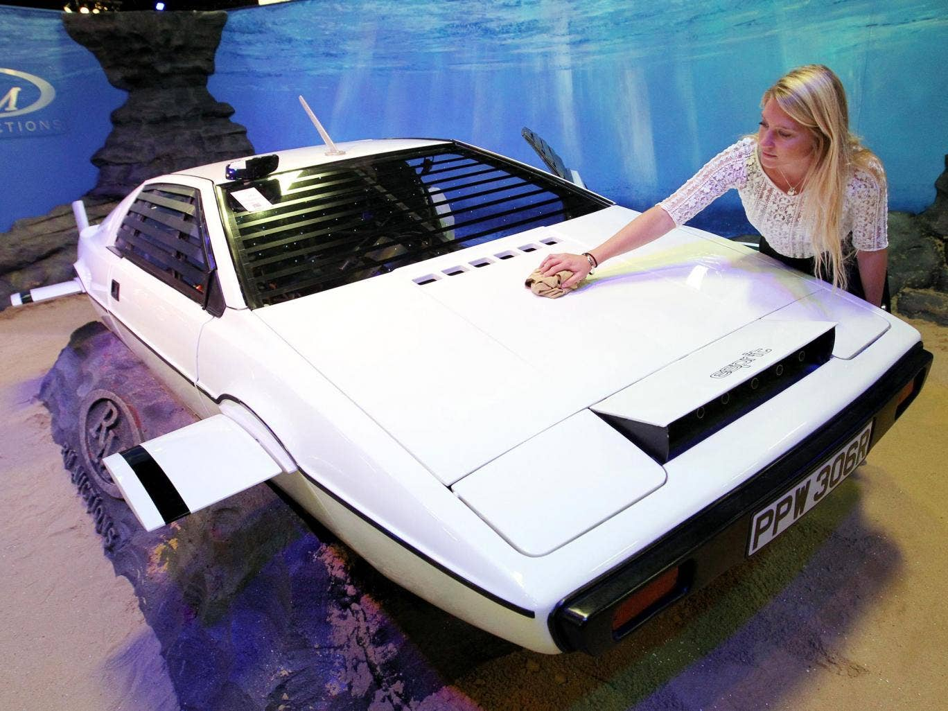 The submarine car used in the James Bond movie The Spy Who Loved Me is up for auction