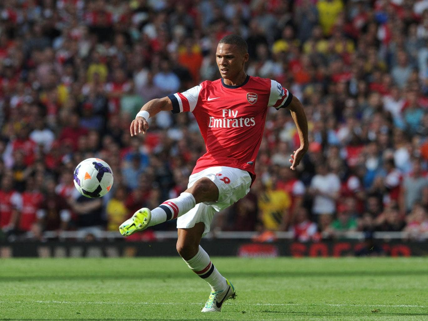 Gibbs has had a good start to the new season, scoring against Fenerbahce in the Champions League play-off