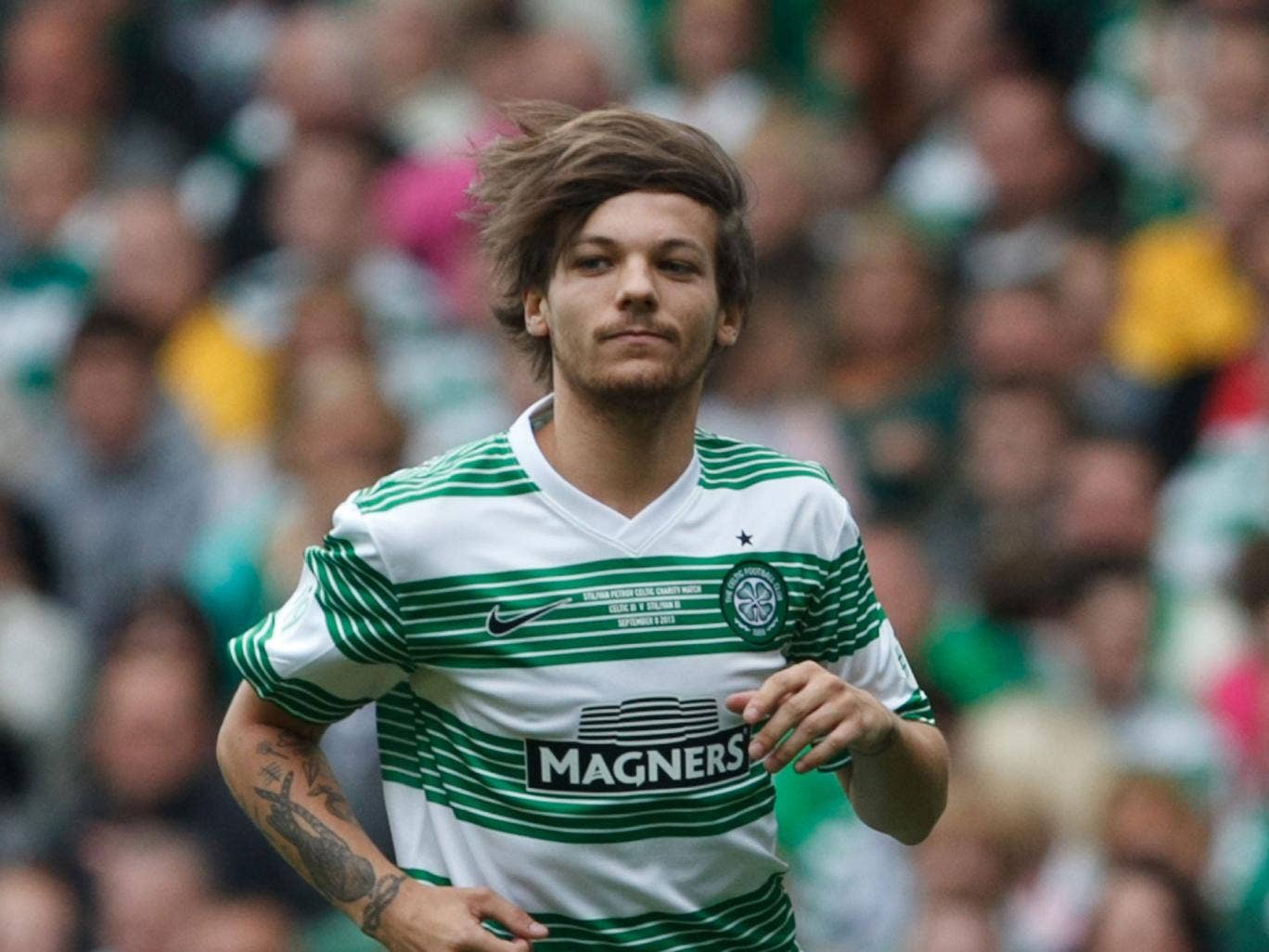 Hopefully Tomlinson will do better than during his last match