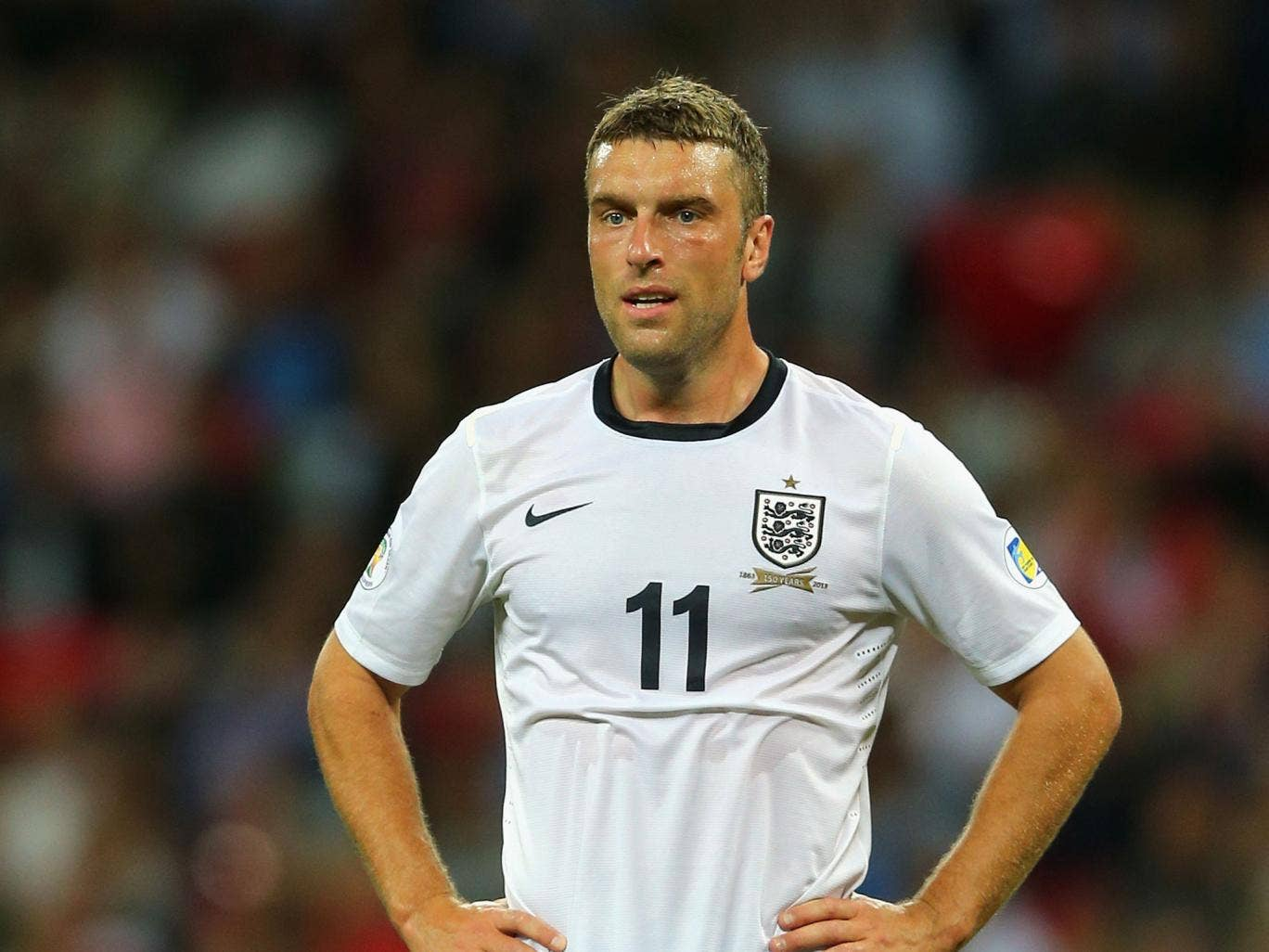 Rickie Lambert has scored in each of his two England games
