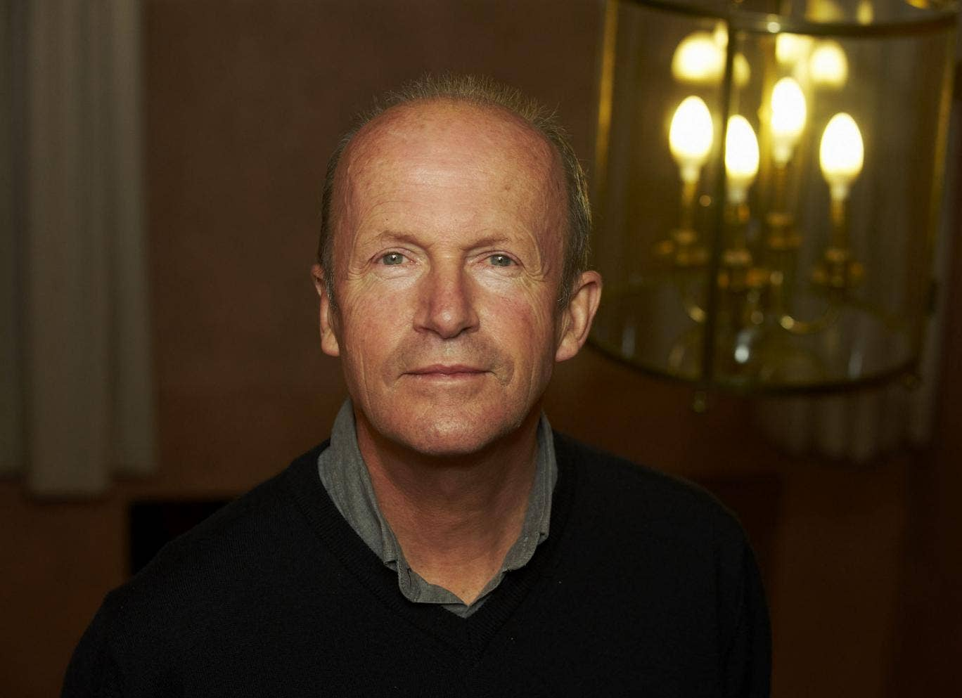 Novelist Jim Crace who has been shortlisted for the Man Booker for Harvest
