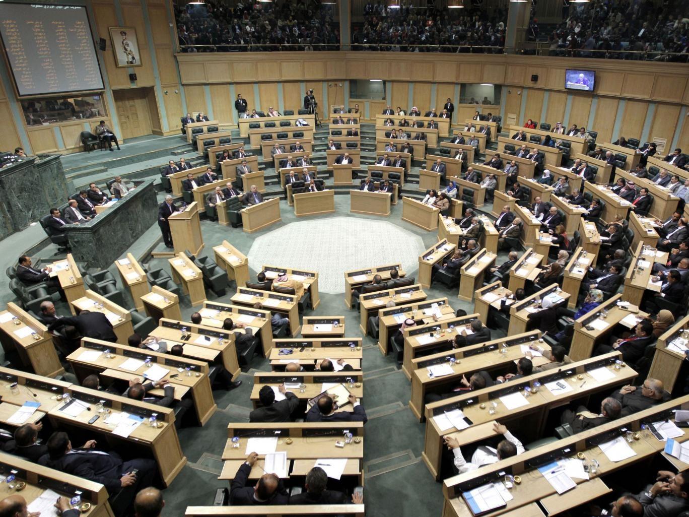 Jordan's parliament in session