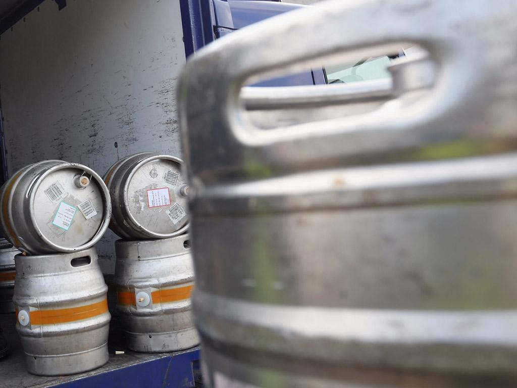 Distribution of beer to many pubs and clubs will be disrupted by the strike