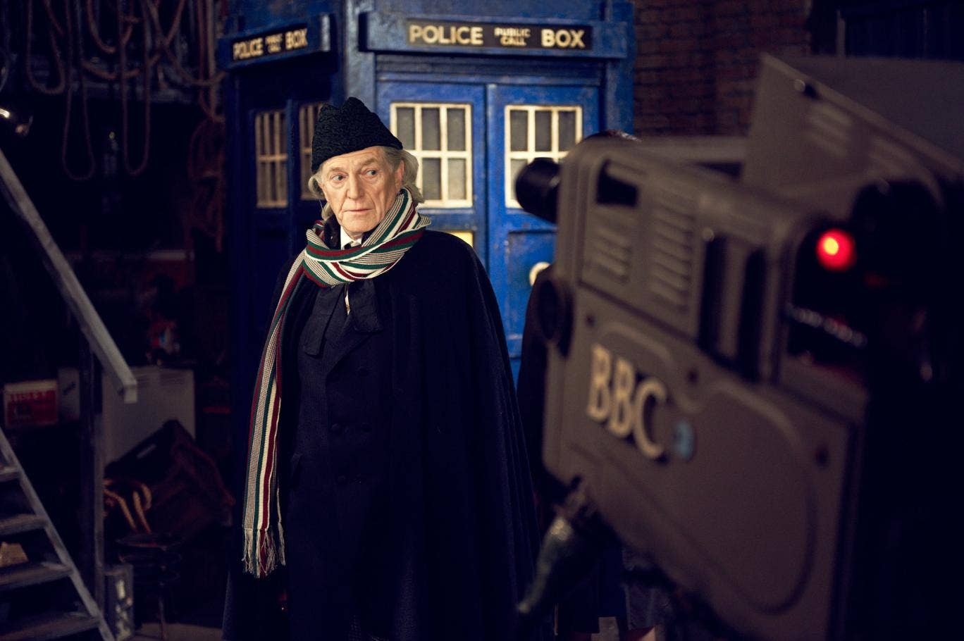 The first Doctor Who William Hartnell