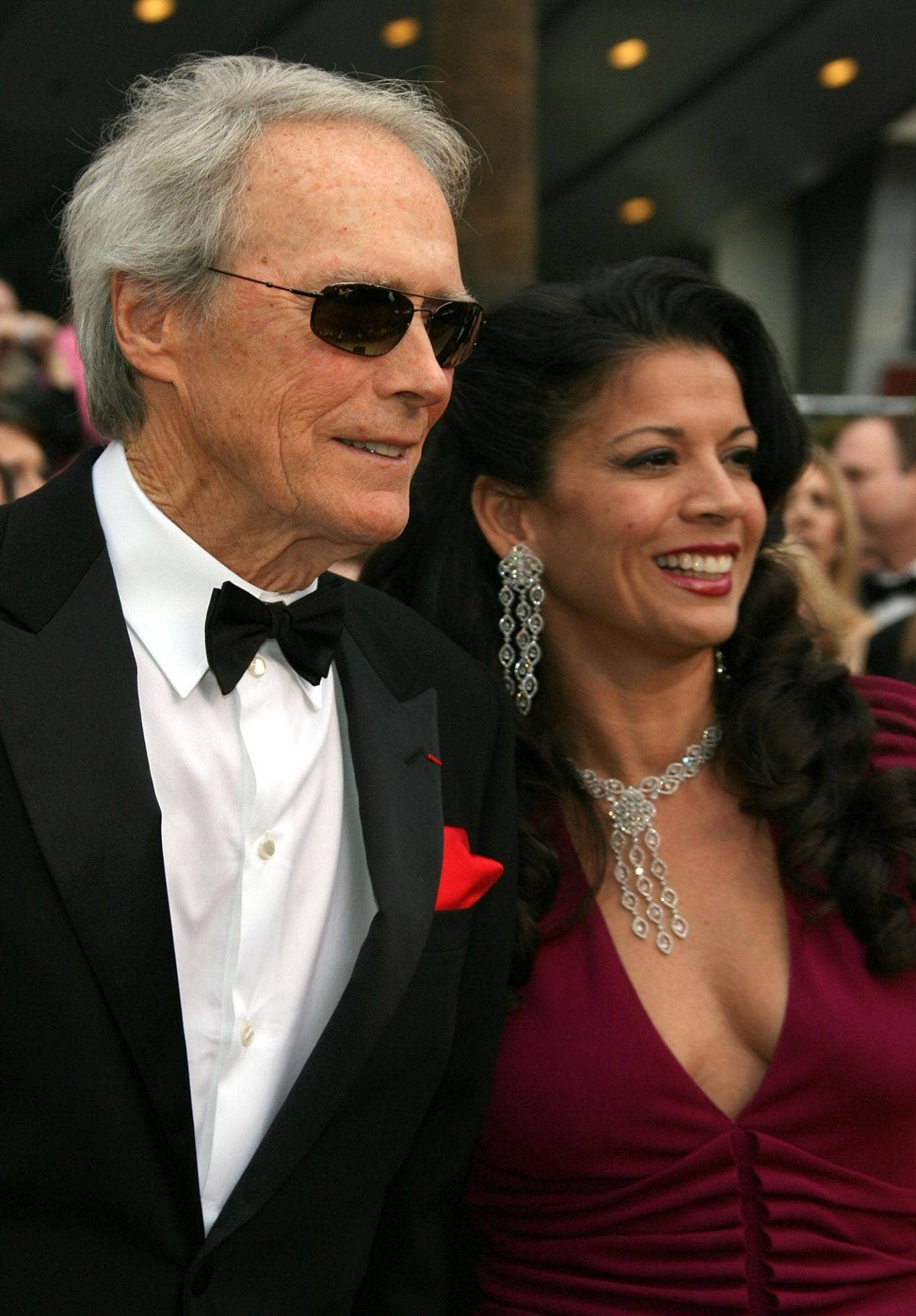 Clint and Dina Eastwood who are to legally separate after 17 years of marriage