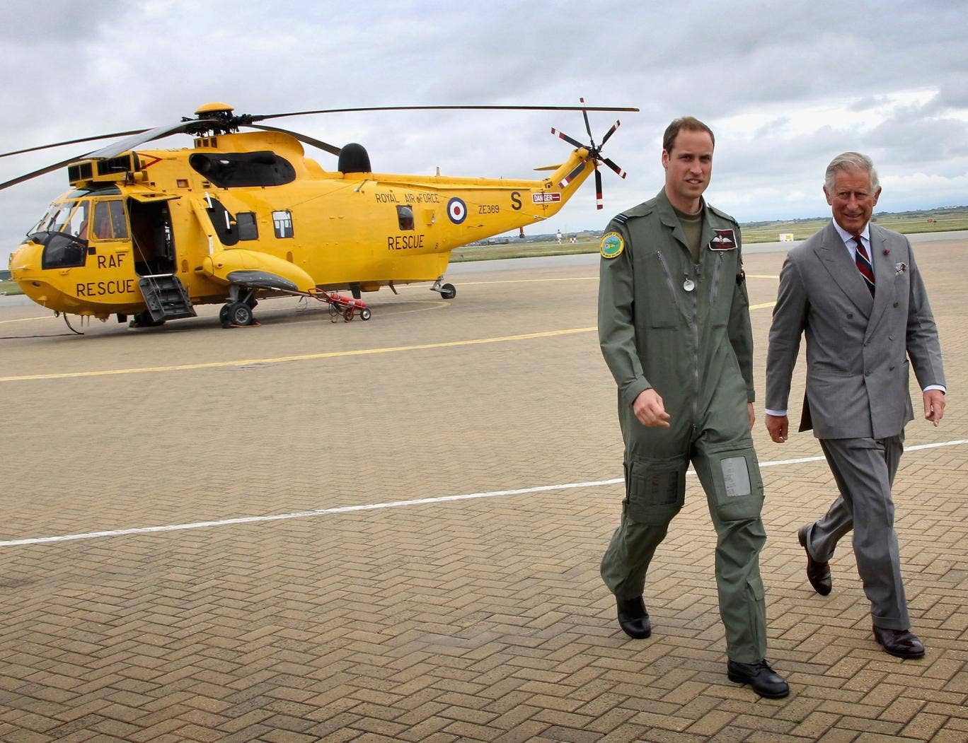 Prince William will leave the RAF