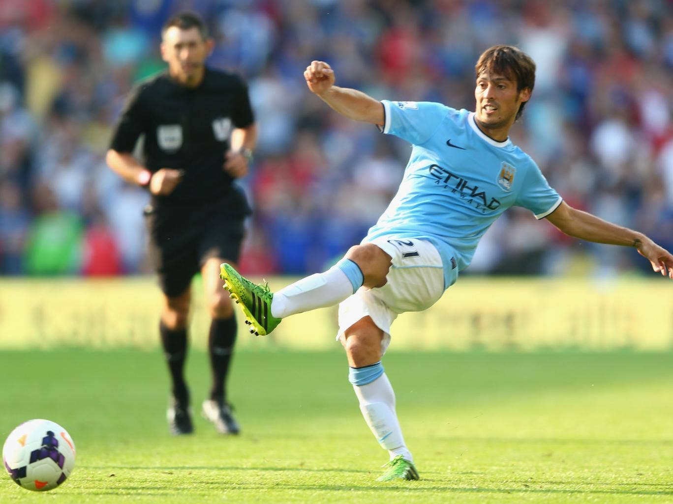 Manchester City midfielder David Silva has been ruled out of this weekend's clash with Stoke