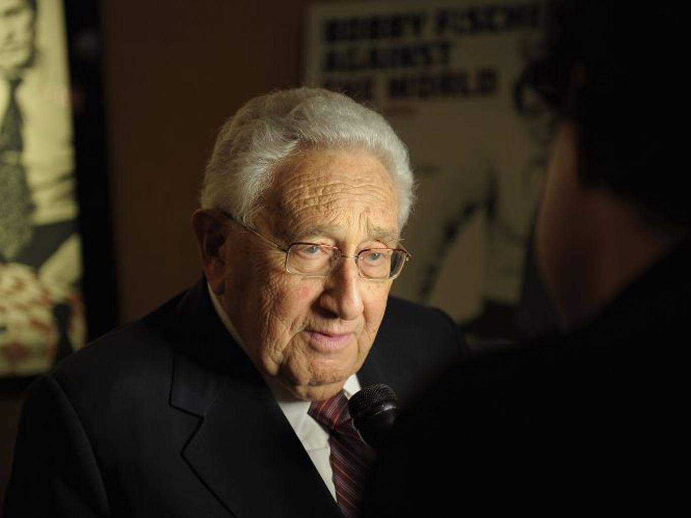 At the age of 90, Kissinger is currently advising the Obama administration on dealing with Russia