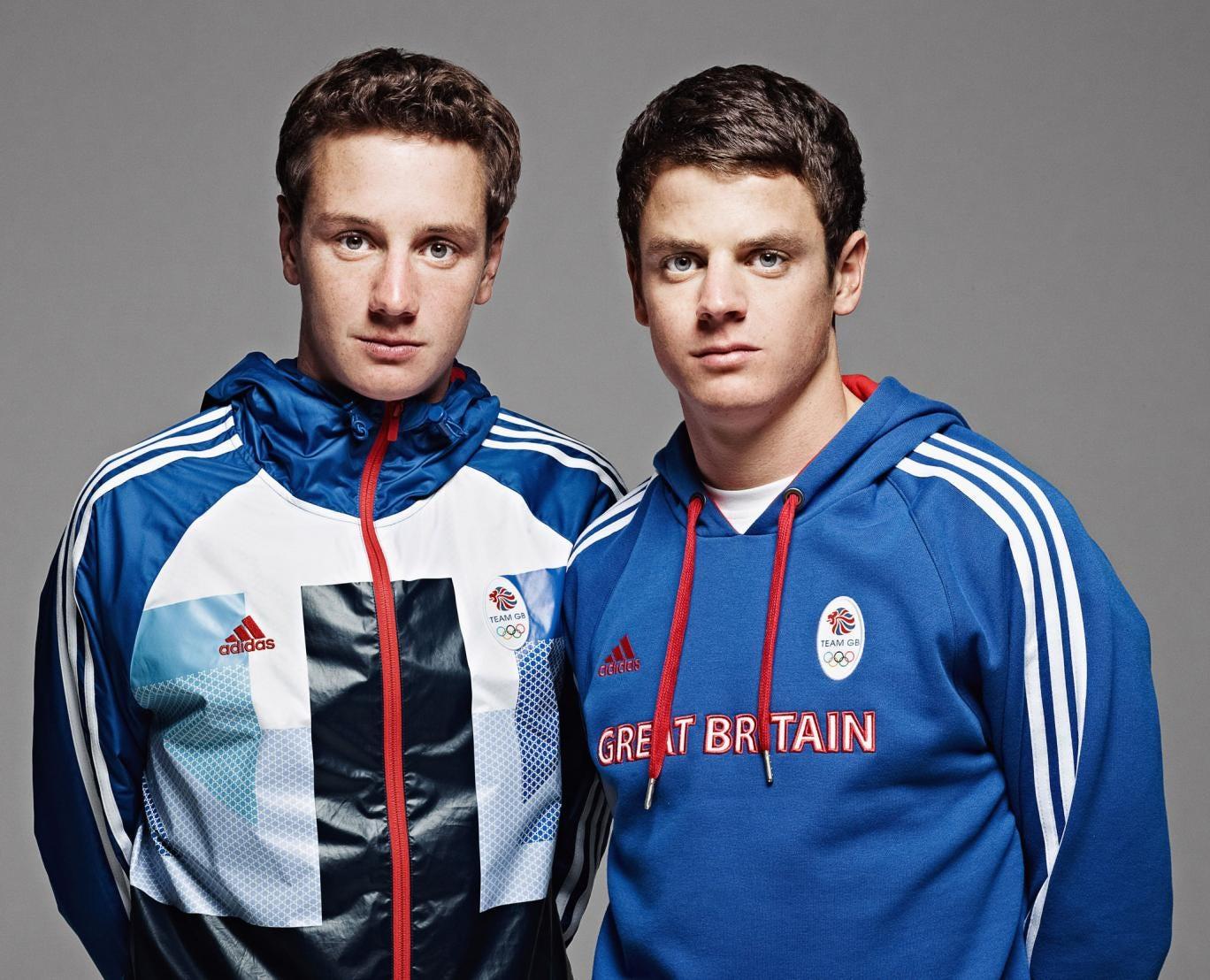 Alistair and Jonny Brownlee, Champion Triathletes