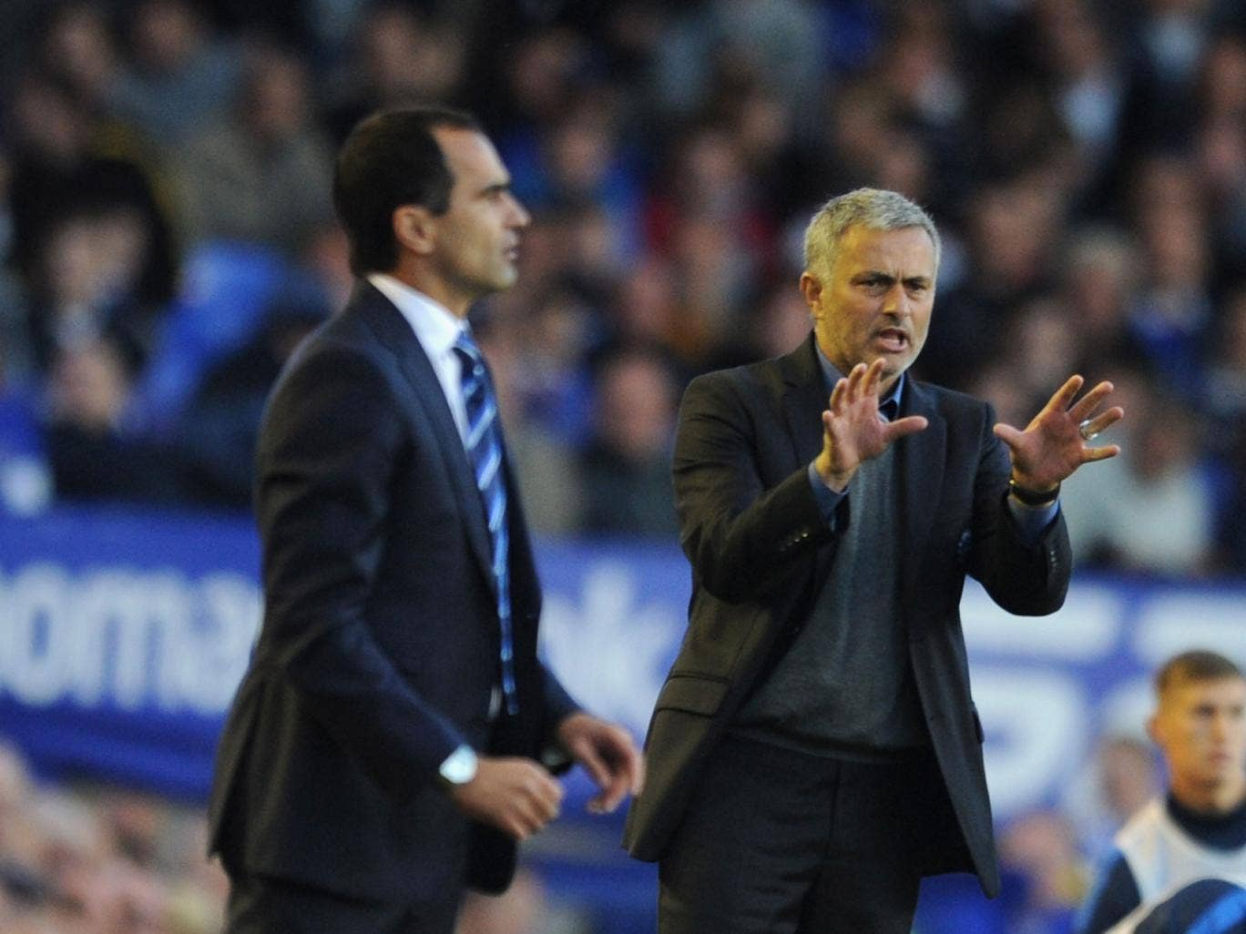 Jose Mourinho's Chelsea were beaten by Everton on Saturday