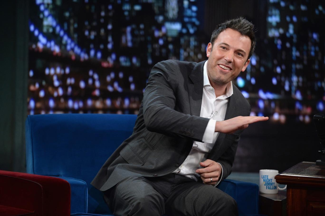 Ben Affleck on the Jimmy Fallon show