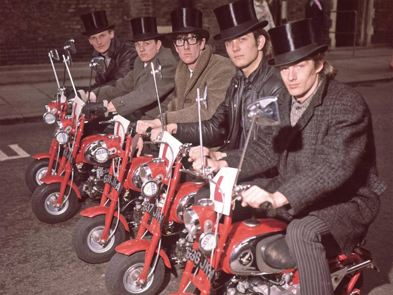 Jackie Lomax, nearest the camera, with The Undertakers in 1964