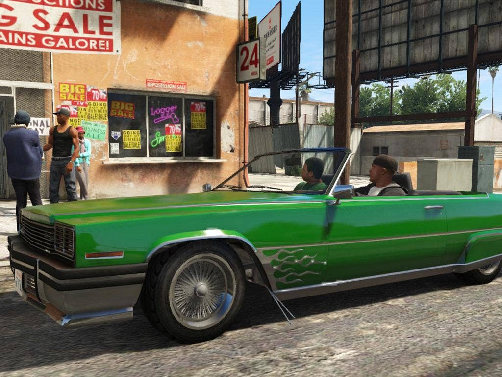 The script is genuinely funny in Rockstar's Grand Theft Auto V