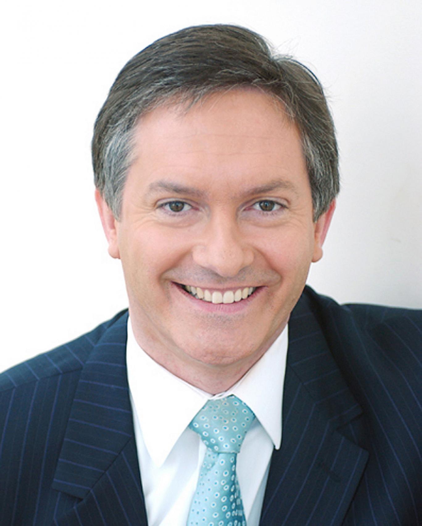 BBC newsreader Simon McCoy