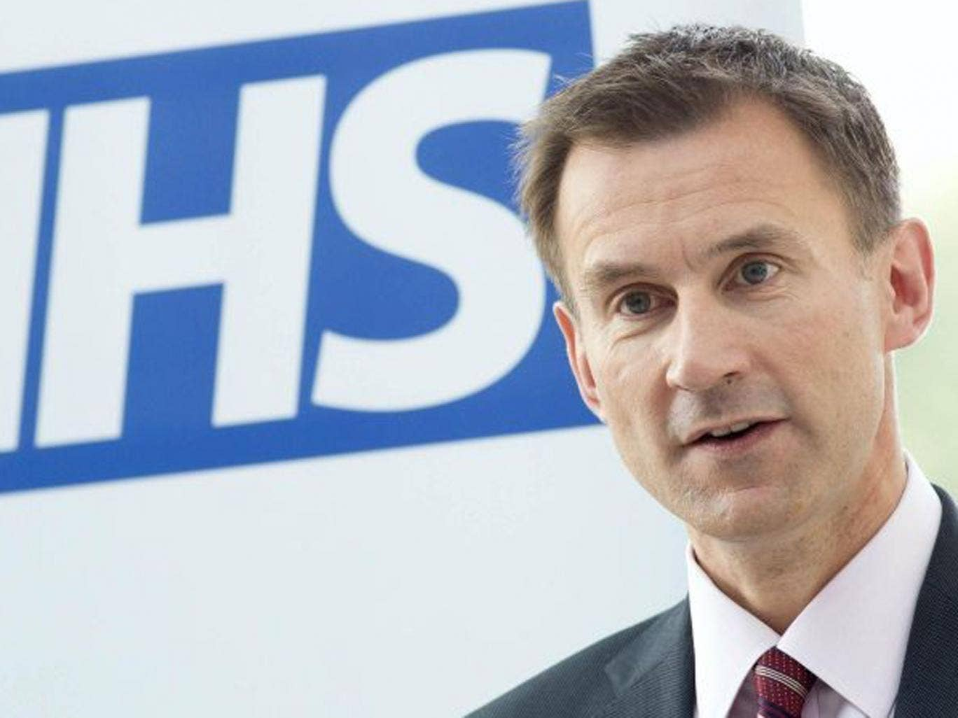 Jeremy Hunt announced 'robust' new failure regime for 11 NHS trusts with some of worst death rates