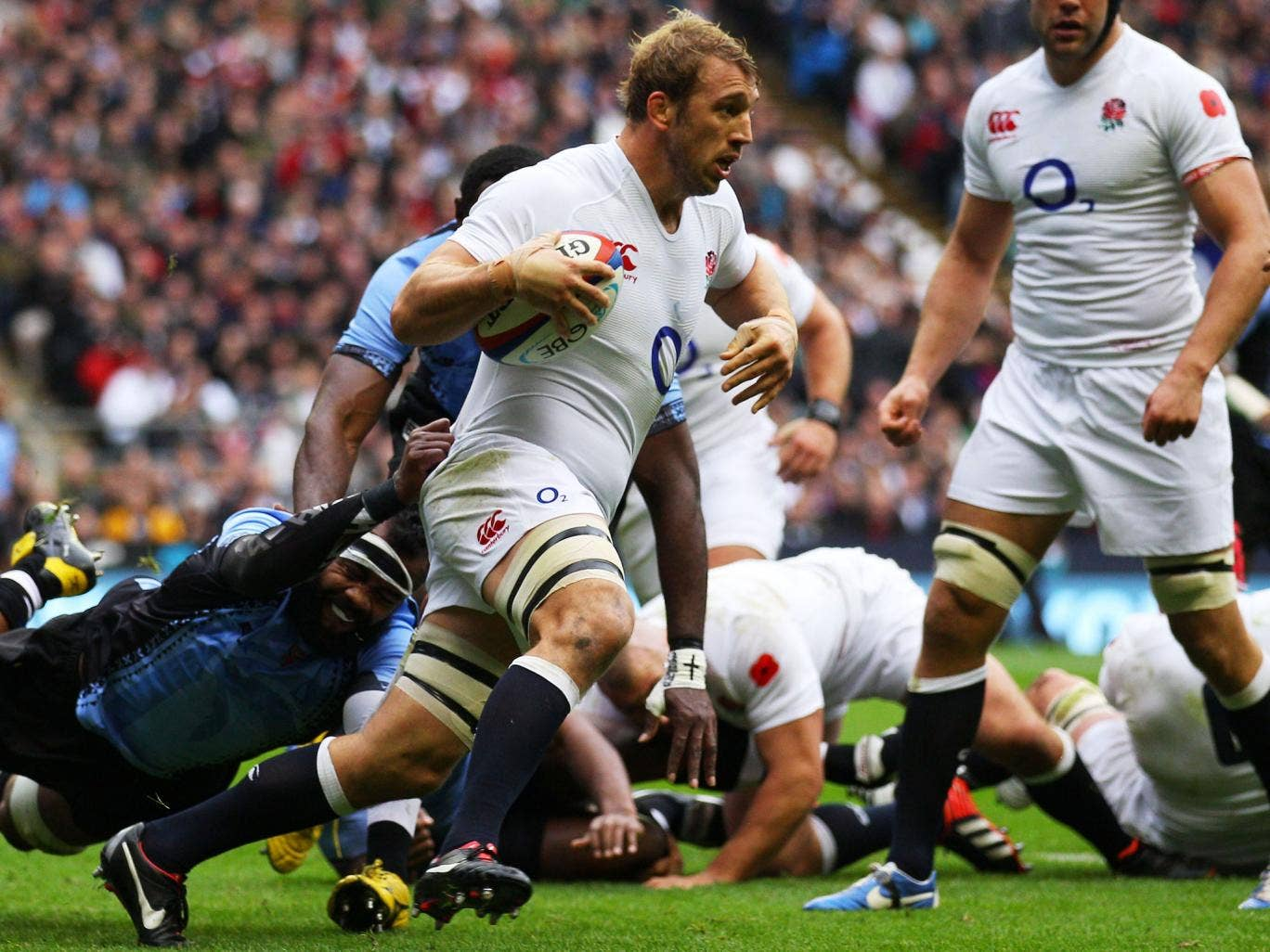 Chris Robshaw was a surprise choice as England captain despite Harlequins' success in 2012 but he has now led his country 16 times