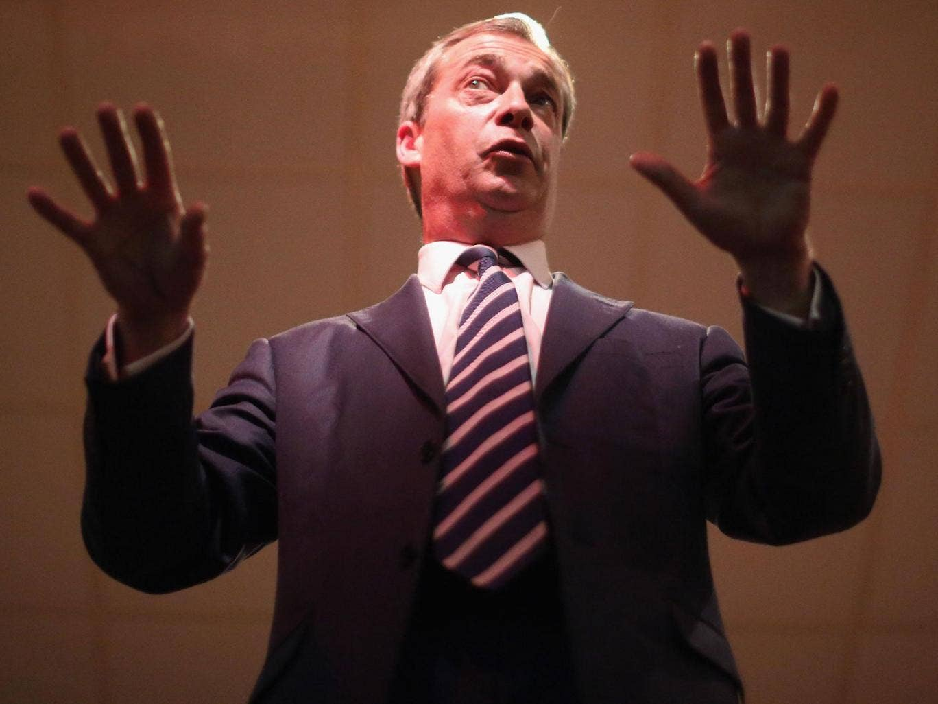 Nigel Farage was accused of being a fascist by teachers when he was at school