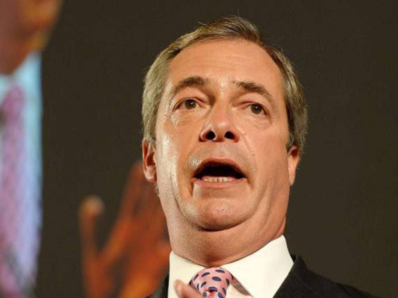 """The leader of UKIP Nigel Farage last night said that Ayling's comments were """"slightly odd"""" and admitted he did """"recruit"""" her but was not involved in her selection as a local candidate."""