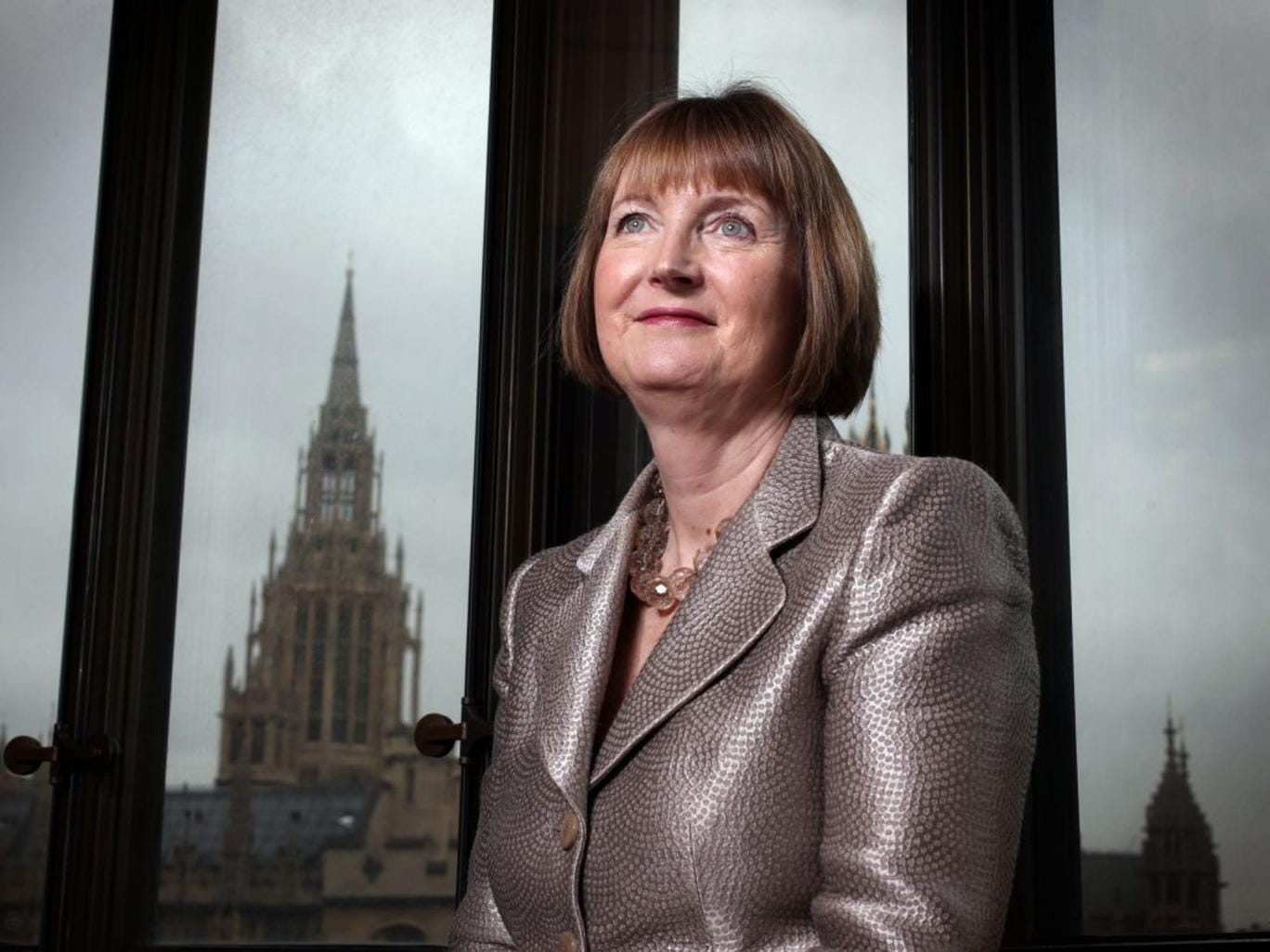 Harriet Harman, MP for Camberwell and Peckham, Deputy Leader of the Labour Party and shadow Secretary of State for Culture, Media and Sport, pictured at her office in Portcullis House in Westminster, London, February 17th, 2012