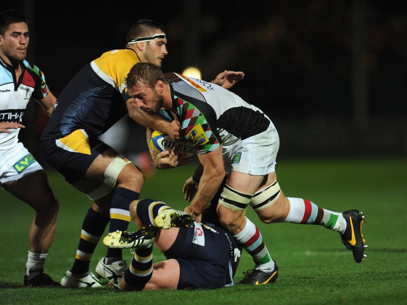 Chris Robshaw impressed for Harlequins in their victory over Worcester Warriors