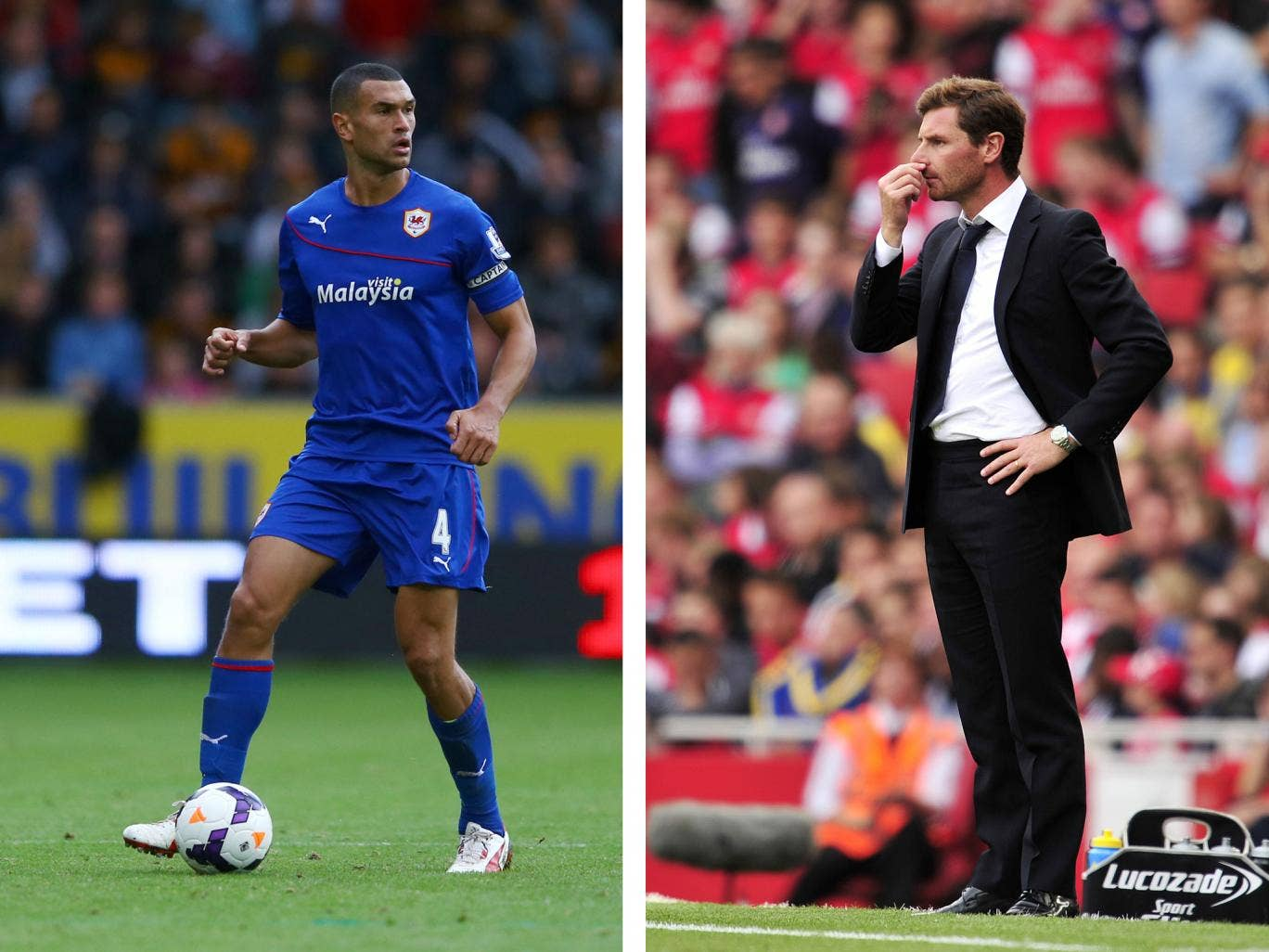 Steven Caulker was allowed to leave Tottenham and join Cardiff by Andre Villas-Boas