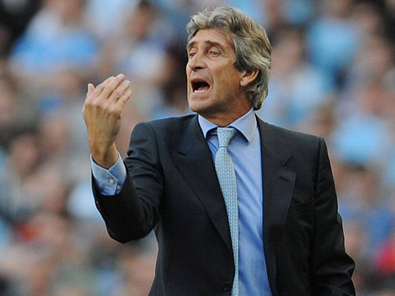 The Manchester City manager, Manuel Pellegrini, said that his side were superior and, if anything, played too quickly as the game wore on
