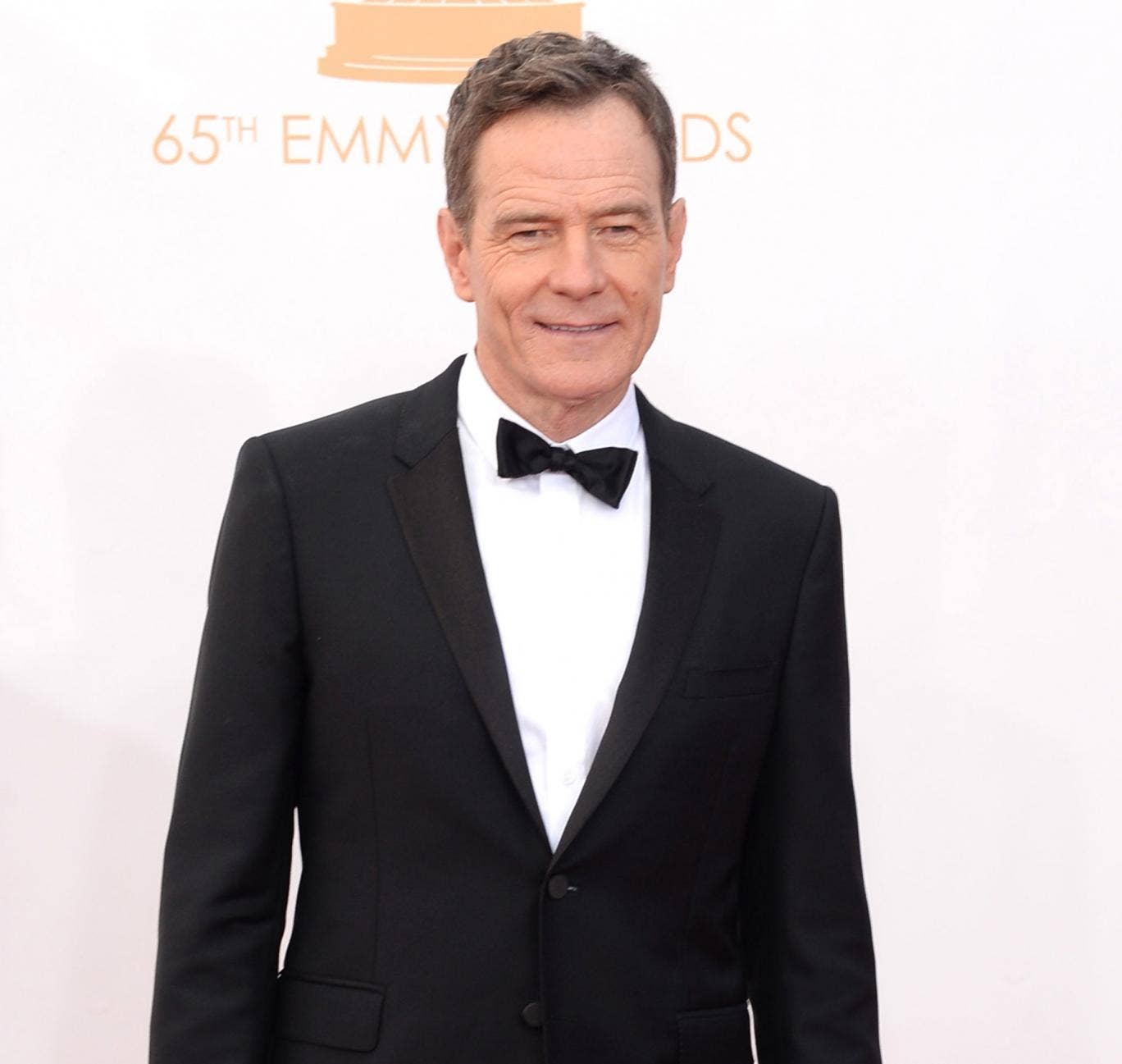 Bryan Cranston arrives at the Emmy Awards