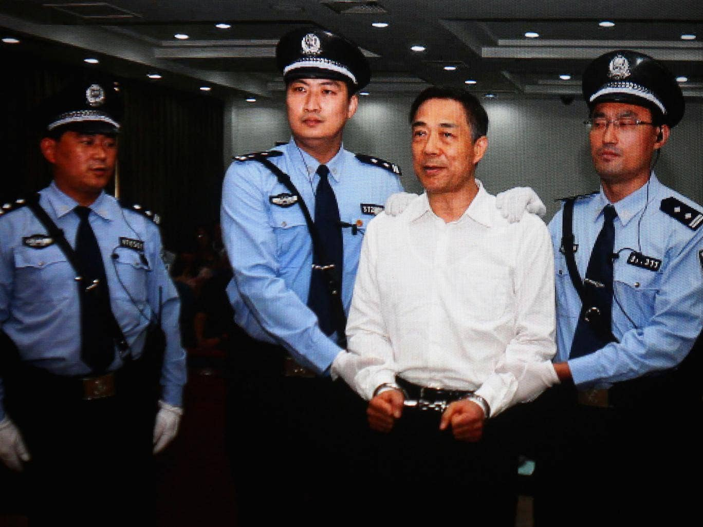 Bo Xilai was sentenced to life in prison on Sunday