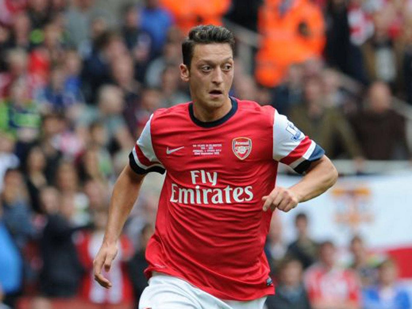 Mesut Ozil cost a club record fee of £42.5m