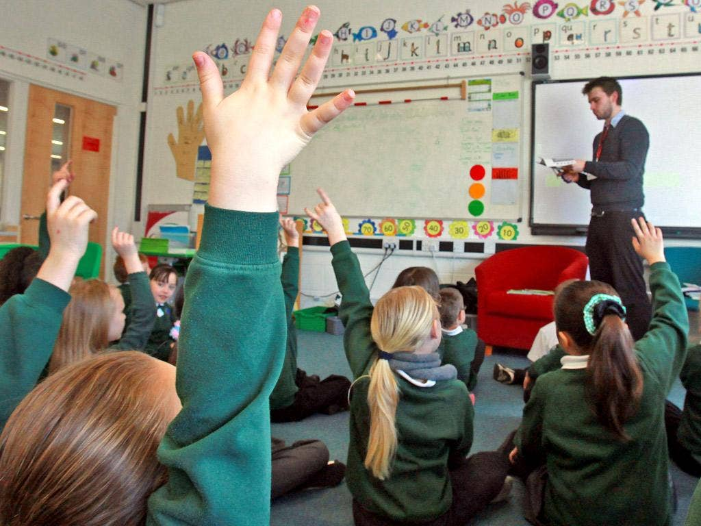 Professor Alexander took ministers to task over their claim that the job of primary schools was to make their pupils 'secondary ready'