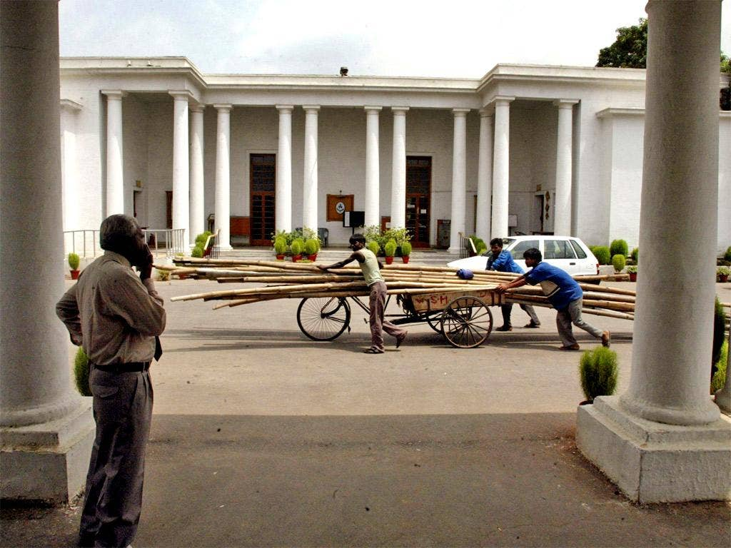 The Delhi Gymkhana Club dates back to 1913 and the British Raj in India