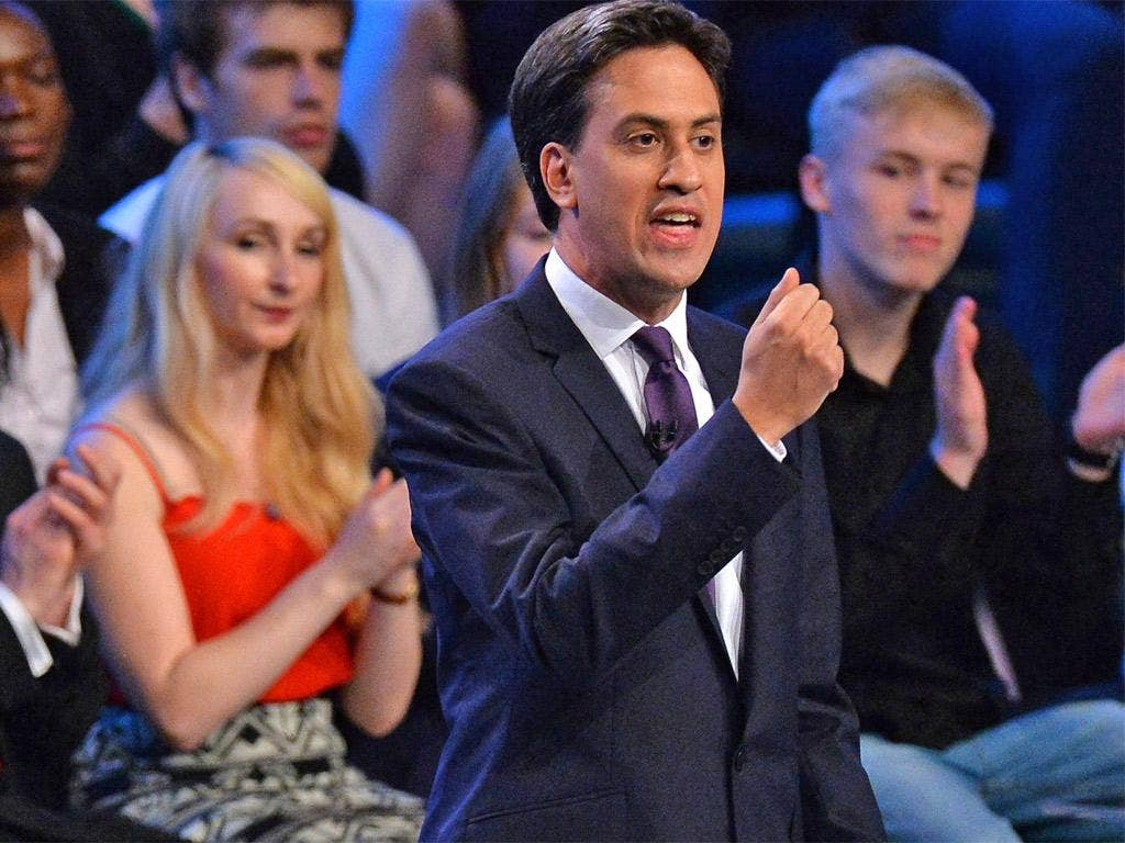 Ed Miliband promised a price freeze on heating bills at the conference