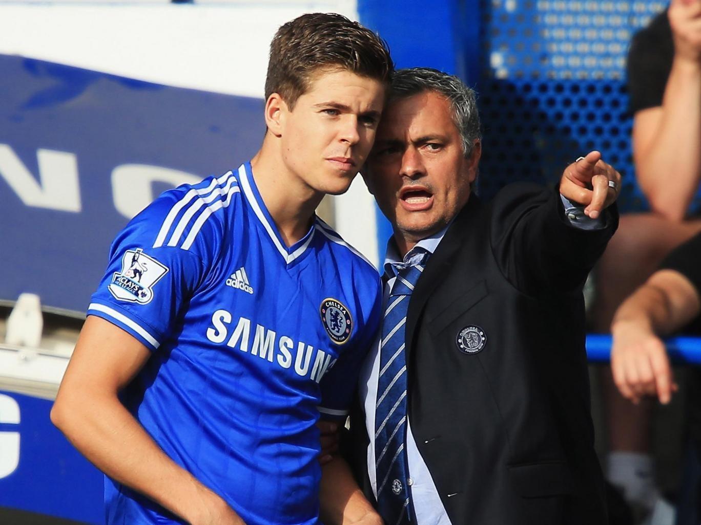 Marco van Ginkel with Jose Mourinho