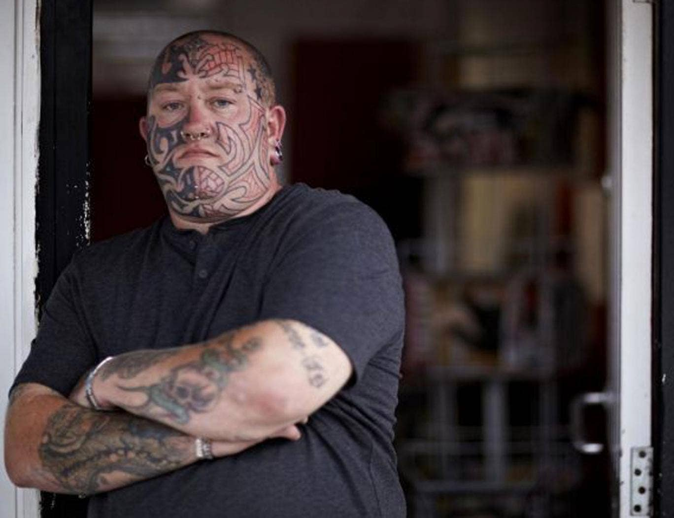 Face values: Paul from Channel 4's 'My Tattoo Addiction'