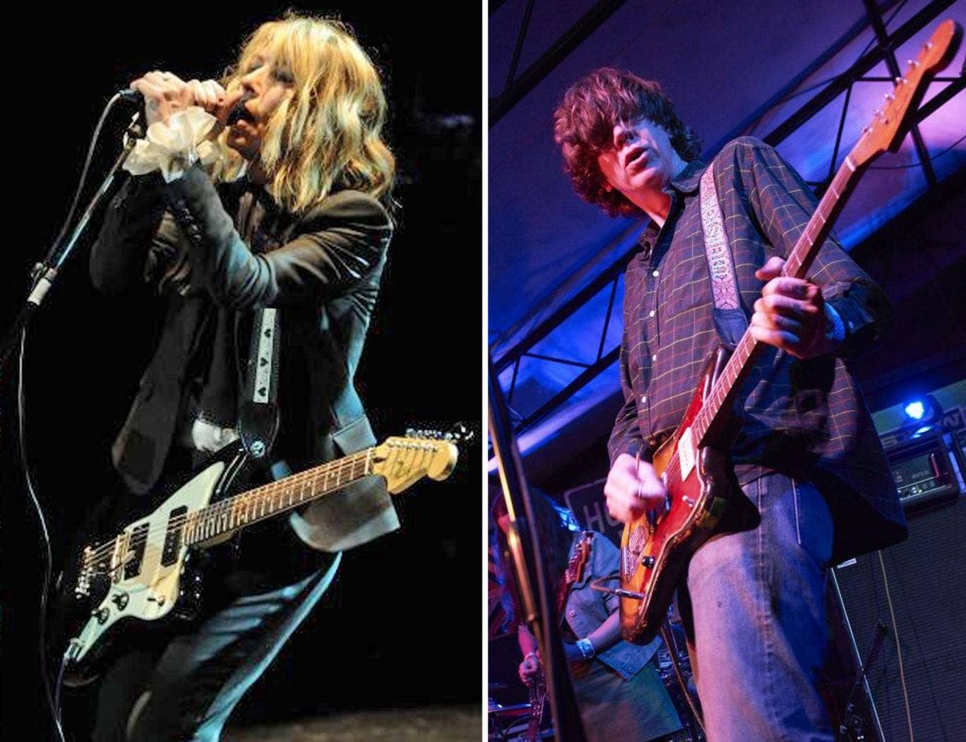 All over now: Thurston Moore (right) and Kim Gordon (left)