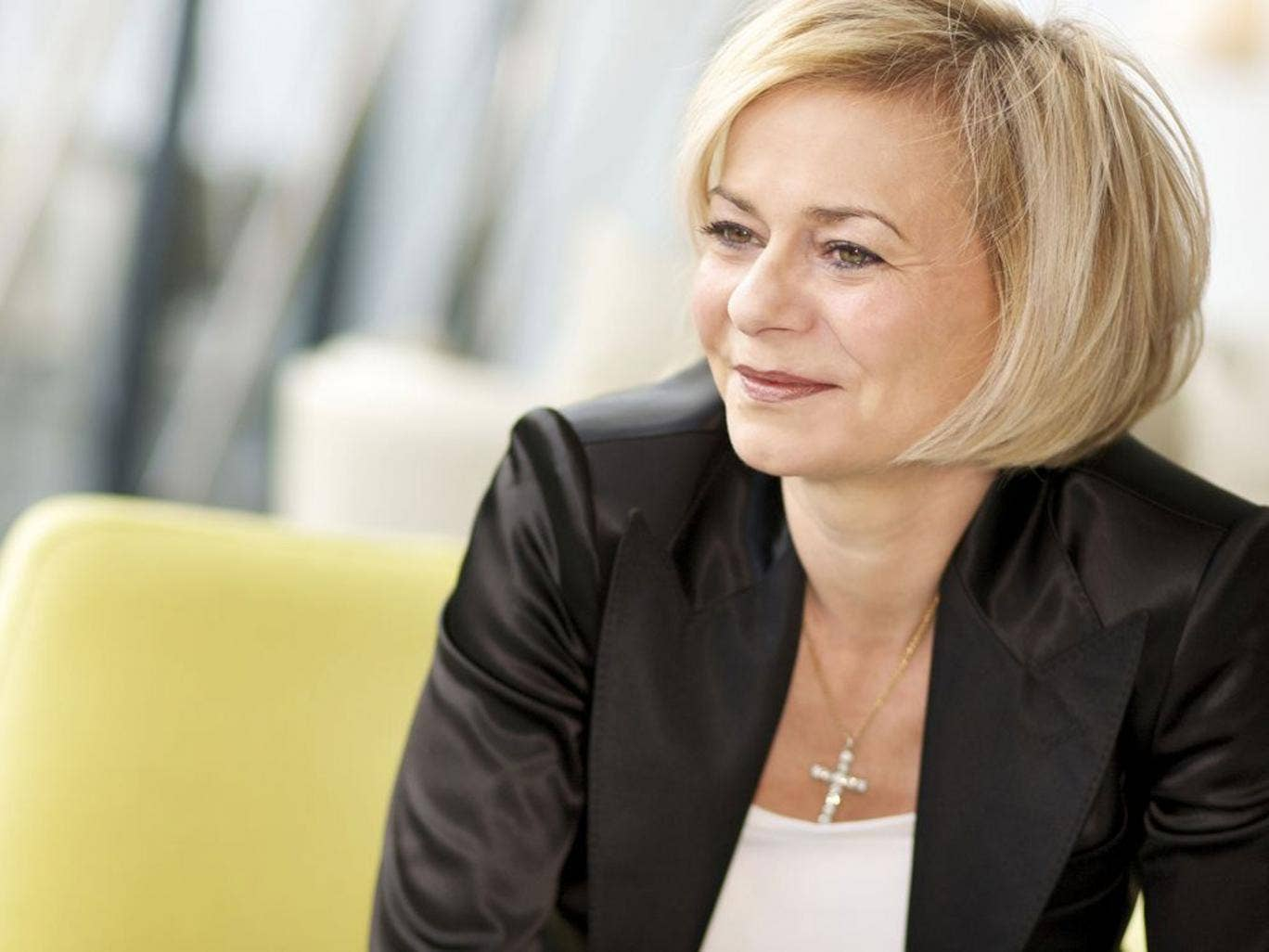 Thomas Cook's chief executive Harriet Green