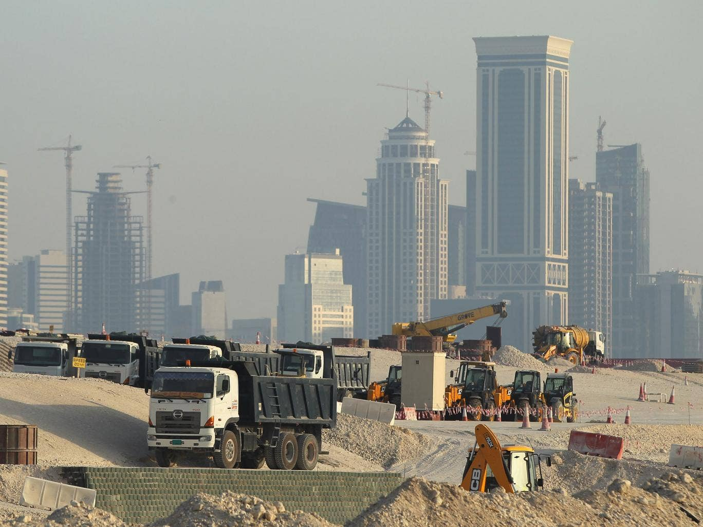 FIFA are to investigate the conditions of construction workers in projects at Lusail City