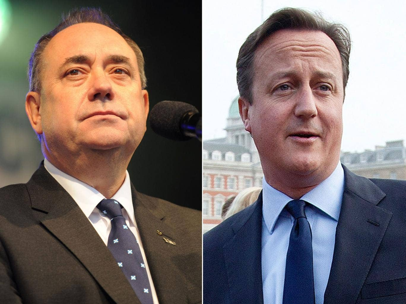 David Cameron has ruled out going head-to-head on television with Alex Salmond