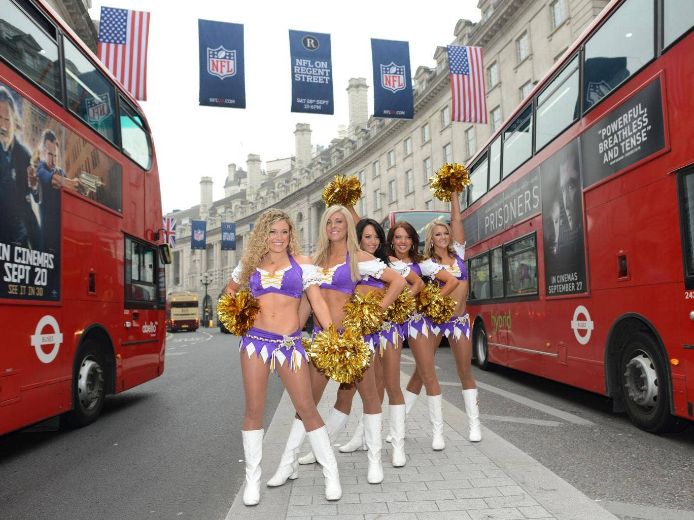 The NFL presence in London is full of hype, given the quality