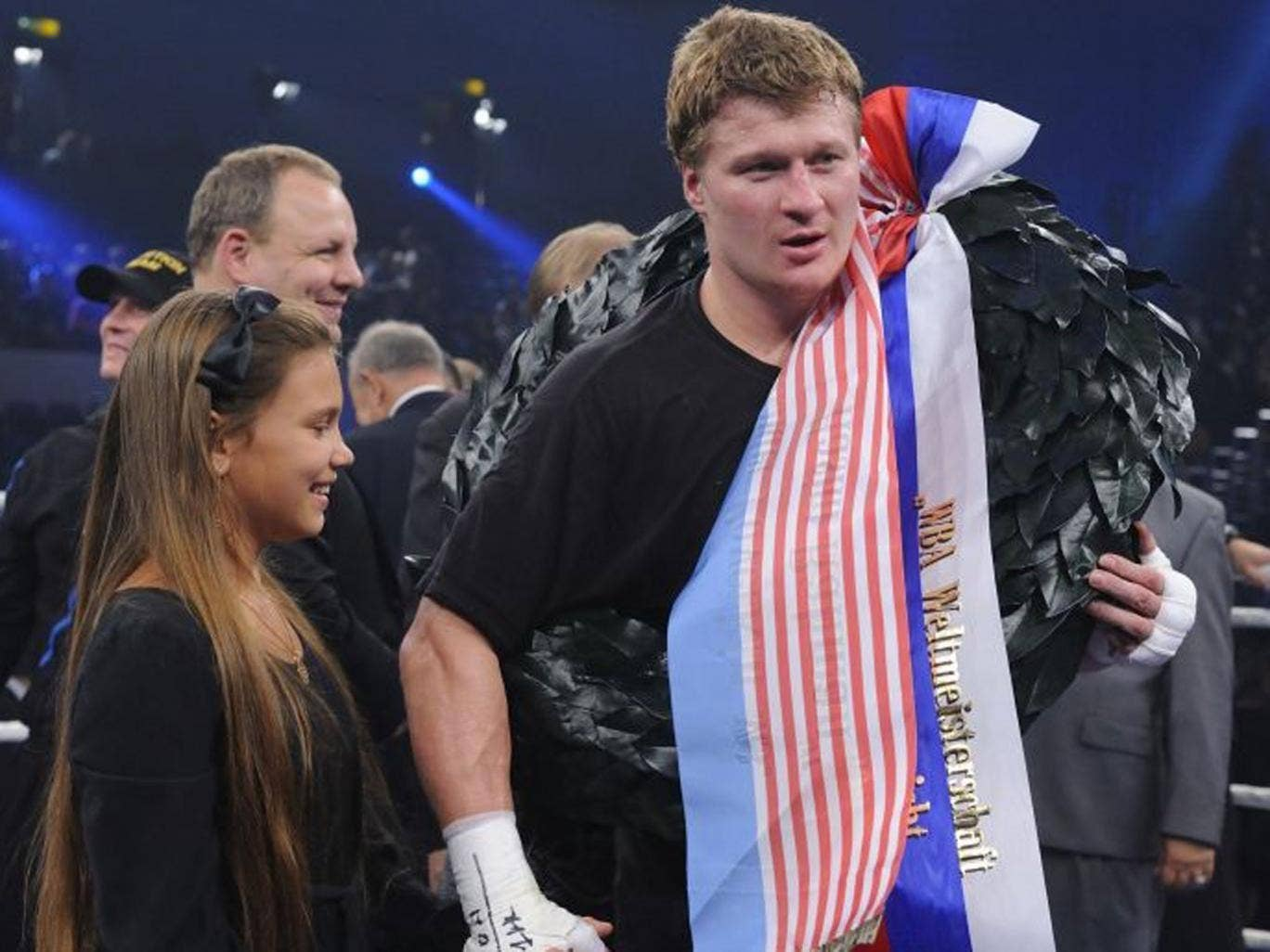 Right carry-on: Alexander Povetkin has been surrounded by rumours