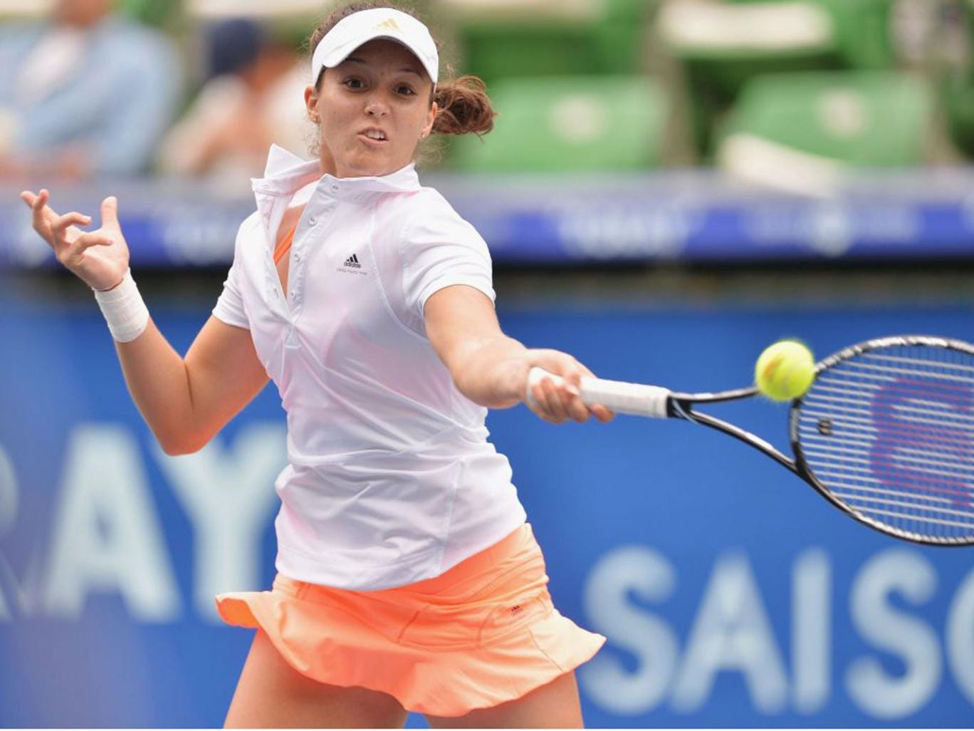 Laura Robson was victorious in Beijing on Sunday