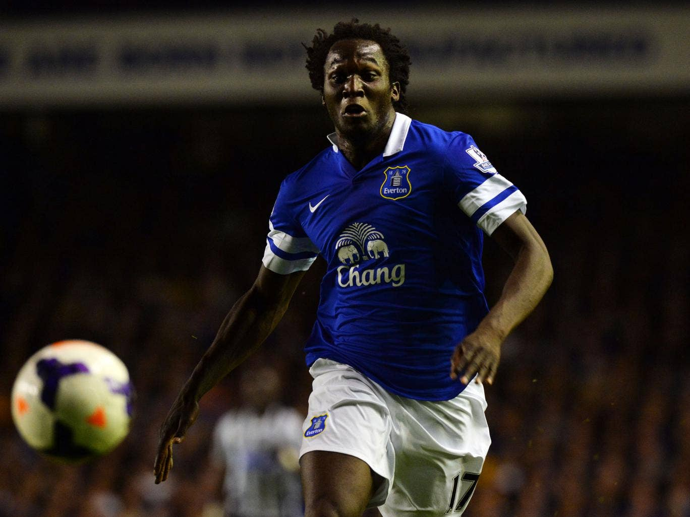 Romelu Lukaku scored twice in Everton's 3-2 win over Newcastle