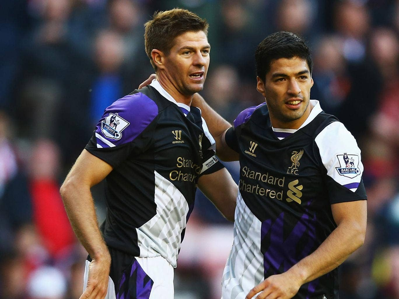 Steven Gerrard feared Luis Suarez would leave Liverpool in the summer