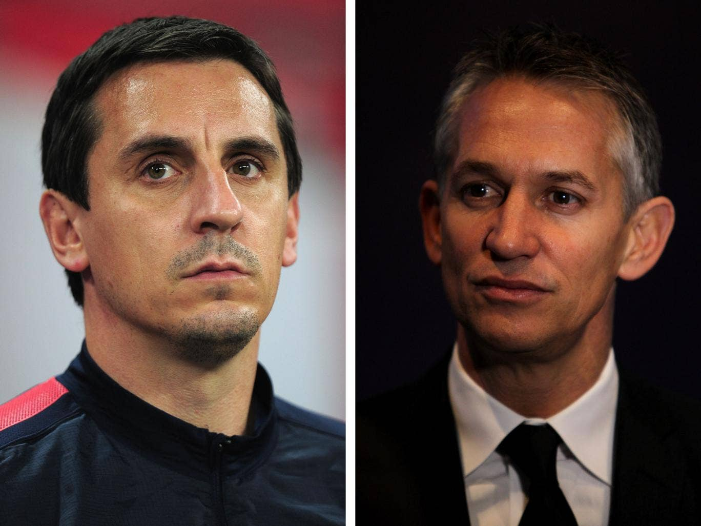 Gary Lineker has admitted that he wanted the BBC to get Gary Neville on Match of the Day