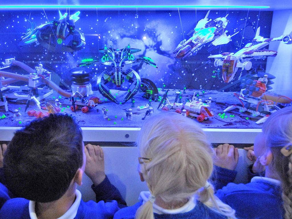 The Museum of Childhood in London. There has been a 31 per cent drop in the number of school visits to museums