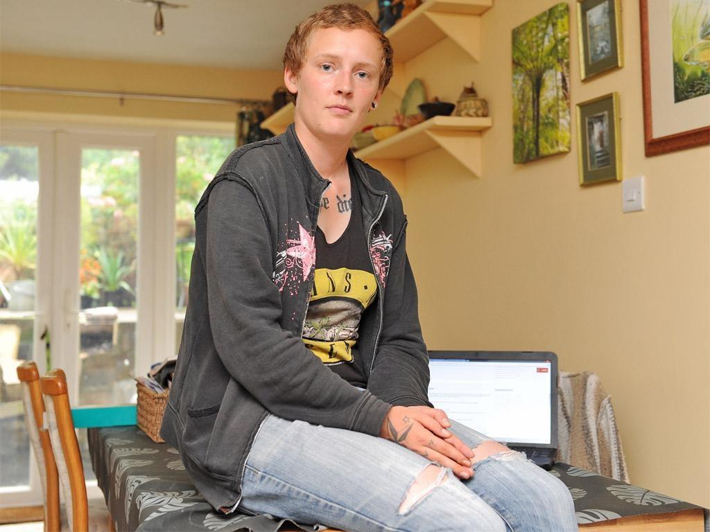 Becky Owen was cyber-bullied as a teenager